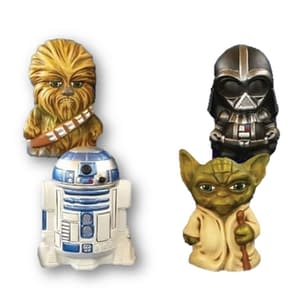 Star Wars en cerámica para pintar