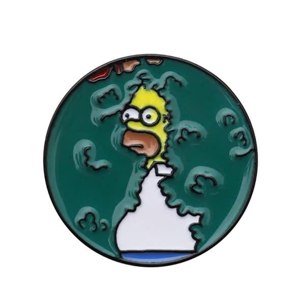 Pin metálico Homero