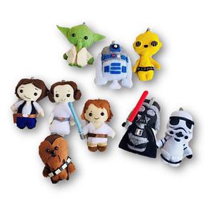 Muñecos fieltro coleccionistas