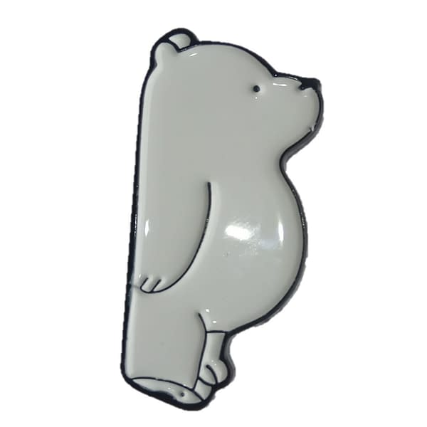 Pin metálico oso polar