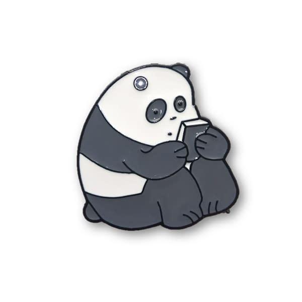 Pin metálico Oso panda
